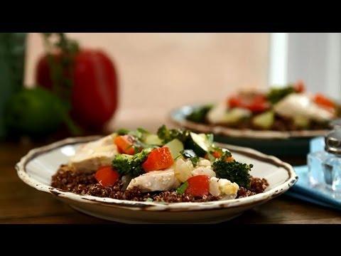 How to Make Chicken with Quinoa | Chicken Recipes | Allrecipes.com