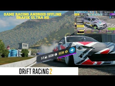 GAME RACING ANDROID/IOS OFFLINE HIGHT GRAFIK HD   CARX DRIFT RACING 2 MOD APK
