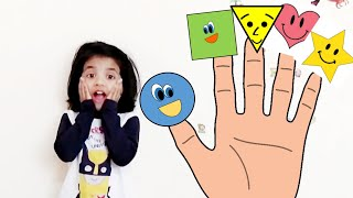 #fingerfamily #forkids #daddyfingersong Shapes Song