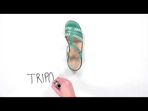 Video for Capri T-Strap Sandal this will open in a new window