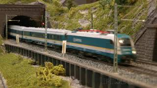 TT Scale Trains - Model Railway with Rolling Stock of Tillig, PIKO, Hornby and Peresvet (Пересвет)