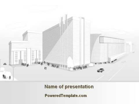 Urban architecture project powerpoint template by poweredtemplate urban architecture project powerpoint template by poweredtemplate toneelgroepblik Image collections