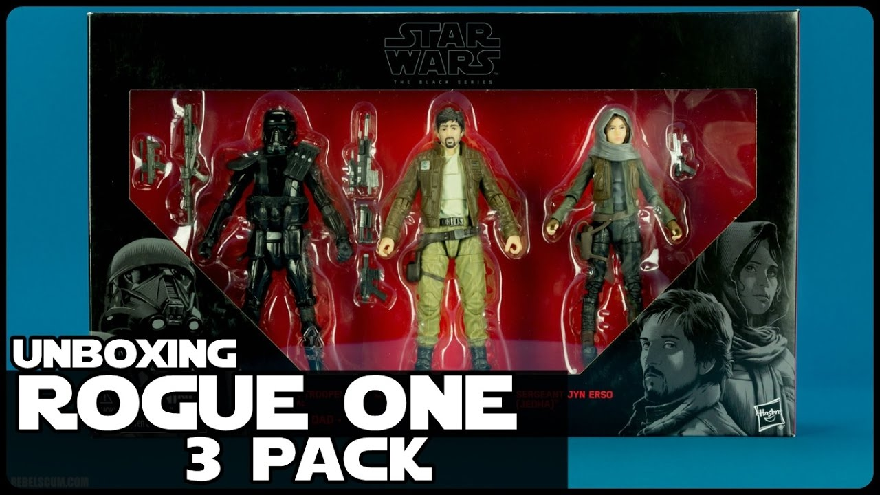 Camera Cachee Star Wars : Download video star wars unboxing rogue one 3 pack black series