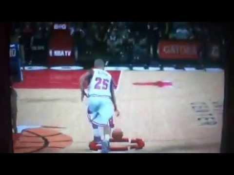 NBA 2k13 - Benjamin Wilson Alley Hoop Dunk