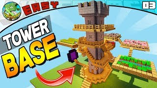 TOWER SURVIVAL BASE! (Minecraft EASY Build 03)