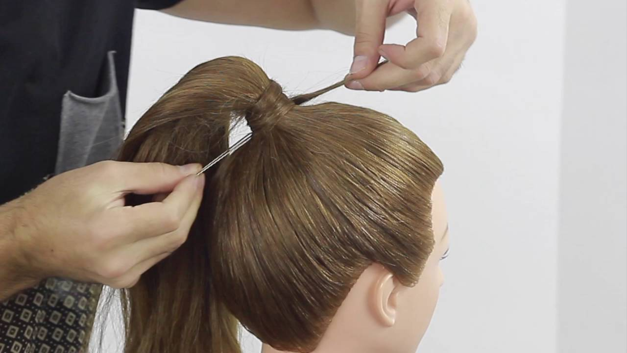 Ponytail Without Rubber Band And Without Pin Farrukh