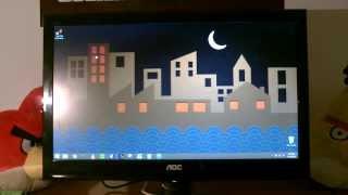 aoc e2050sw 20 inch monitor review