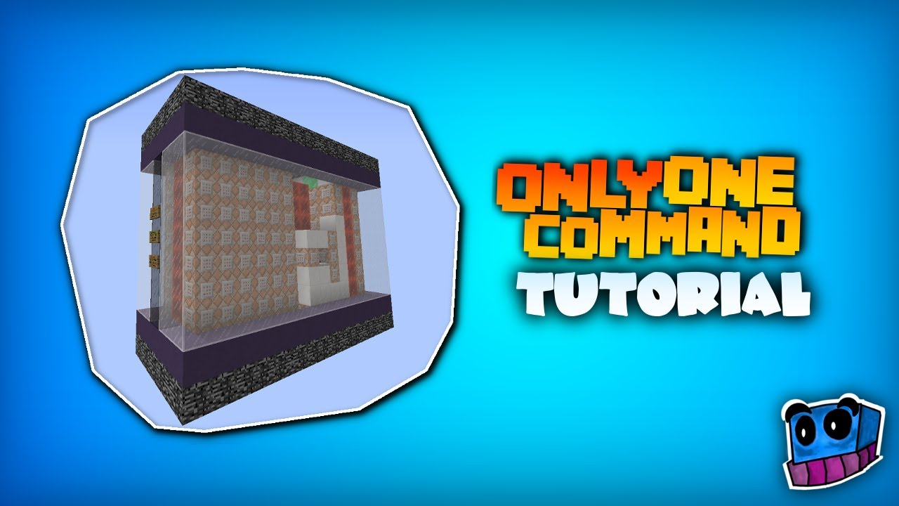 How to create One Command Machines in Minecraft 1 8 (Tutorial)