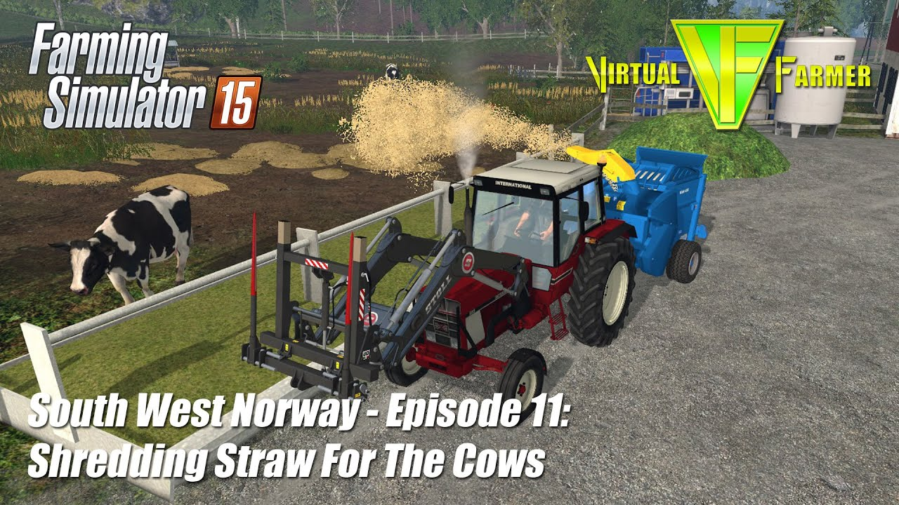 Lets Play Farming Simulator South West Norway Ep - Norway map farming simulator 2015