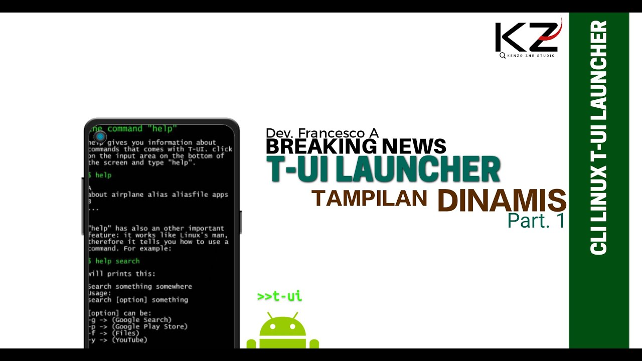 Tui Launcher Tutorial Android 1