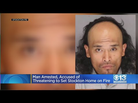 Man Poured Gas Into Stockton Home, Threatened To Set Fire With Kids Inside, Police Say