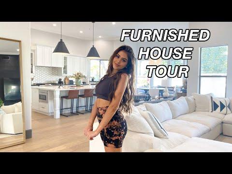 FULLY FURNISHED HOUSE TOUR!! lauren giraldo