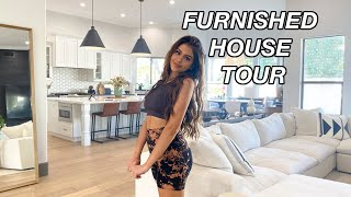 FULLY FURNISHED HOUSE TOUR!! lauren giraldo