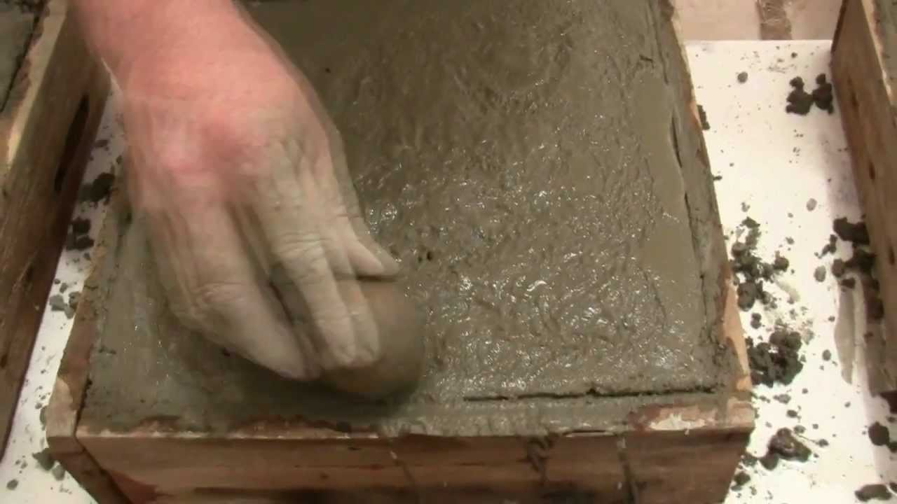 How To Make Concrete Garden Pavers Youtube