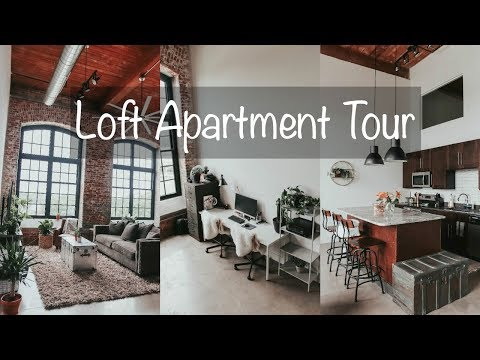 INDUSTRIAL LOFT APARTMENT TOUR!