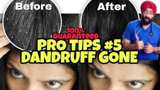 Pro Tips #5: THE FINAL DANDRUFF SOLUTION!  ISSE HI JAYEGA | DR.EDUCATION (HINDI)
