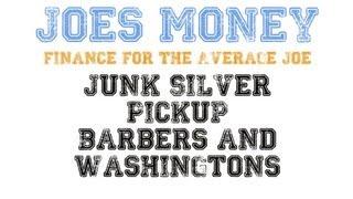 90% Junk Silver Coin Pickup Washington and Barber Quarters Bullion Investing