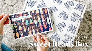 Sweet Reads Box Unboxing June 2021: Beach Reads Box