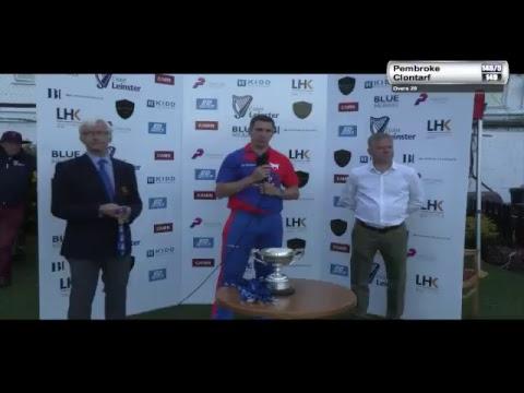 Cricket Leinster LHK Insurance T20 Final 2017 - Clontarf vs Pembroke