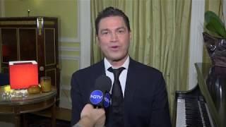 Νέα Υόρκη: Ο Μάριος Φραγκούλης στο Γενικό Προξενείο