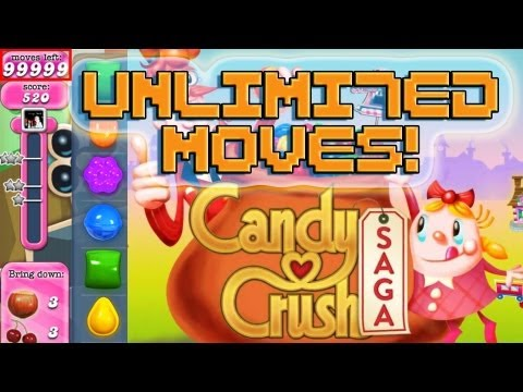 Candy Crush Saga Cheat: UNLIMITED MOVES, UNLIMITED LIVES, INFINITE SCORE