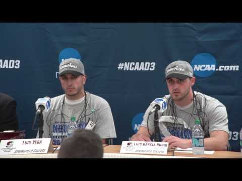 2017 NCAA Division III Men's Volleyball National Championship - Springfield College Press Conference