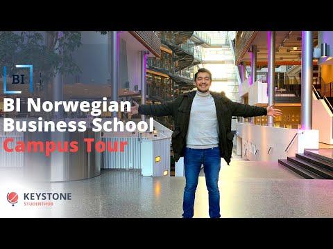 BI Norwegian Business School Campus Tour 🇳🇴