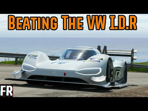 Beating The Volkswagen I.D. R. - Forza Horizon 4