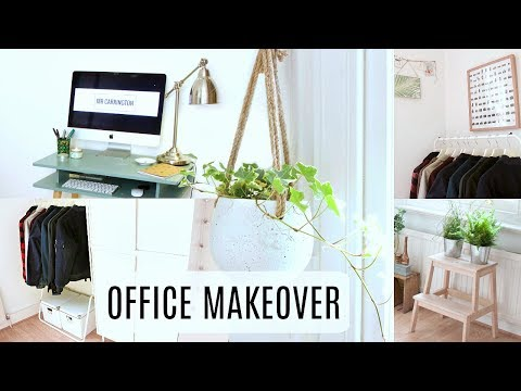 OFFICE MAKEOVER IDEAS | Small office makeover DIY ideas on a budget