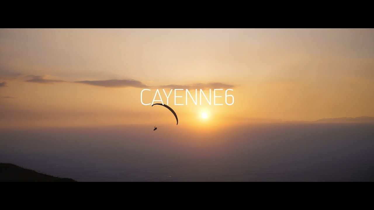 skywalk paragliders - CAYENNE6 xc sportster - IT'S CAYENNE WHEN GOOD DAYS BECOME PERFECT