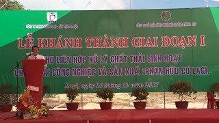 Nhà máy xử lý rác thải đầu tiên ở Bình Thuận đi vào hoạt động