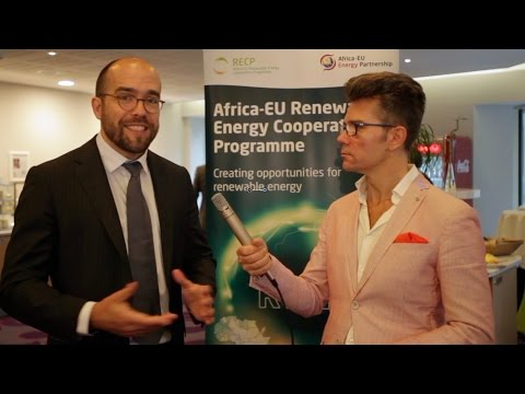 SolarPower Summit 2017: Michael Franz, Africa-EU Renewable Energy Cooperation Programme (RECP)