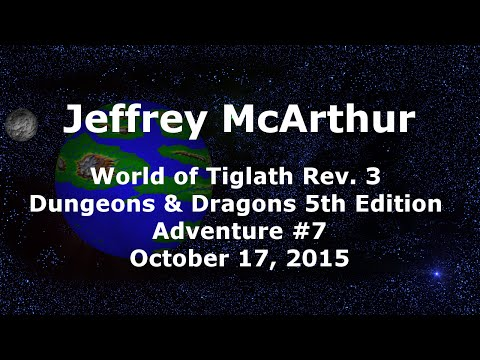 World of Tiglath Campaign – Rev 3 – Adventure #7