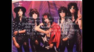L.A. Guns - Long Time Dead (with lyrics)