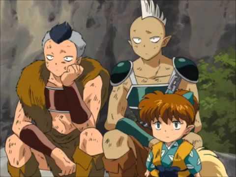 Inuyasha And Koga Fighting