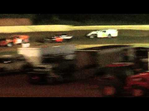 lake cumberland speedway dustin duncan 8-6-11 openwheel feature part2