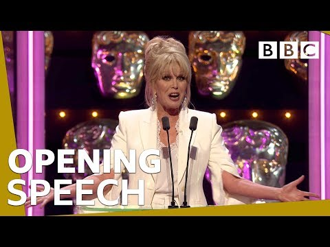 Joanna Lumley introduces the BAFTA awards 2019 - BBC
