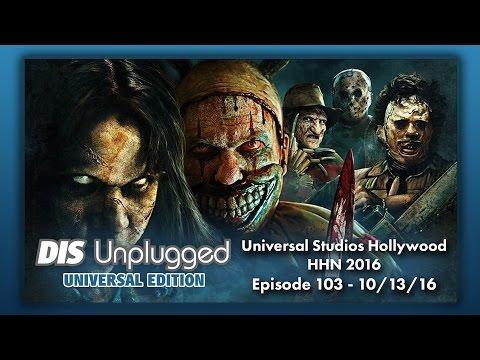 HHN 2016 Universal Studios Hollywood   Universal Edition   10/13/16
