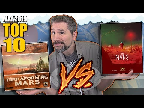 Top 10 Hottest Board Games: May 2019