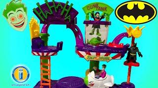Fisher-Price Imaginext Joker Laff Factory from Fisher-Price Toys - HA HA-HA  Land - Batman Nemesis