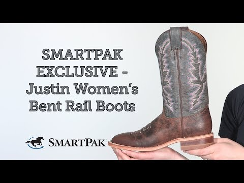 SMARTPAK EXCLUSIVE - Justin Women's Bent Rail Boot Review