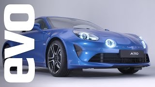 Alpine A110 coupe exclusive. The rebirth of an icon