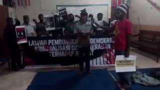 Solidaritas Untuk Papua Lawan Pembungkaman Demokrasi Kriminalitas dan Kekerasan Terhadap Rakyat