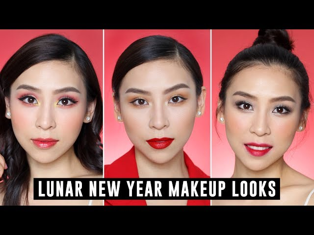 Lunar New Year Makeup Tutorial - Trang điểm đón Tết
