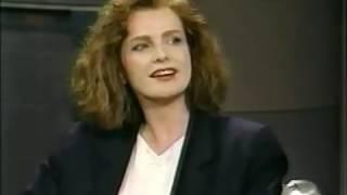 05151990 Letterman Blair Brown & 05151991 Geena Davis