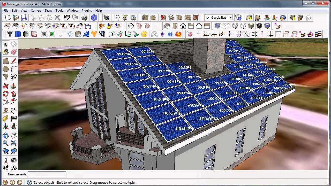 Sketchup Skelion solar design plugin renewable energy