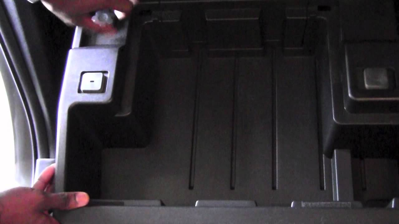 2012 Toyota Tundra Rear Seat Storage Bin How To By