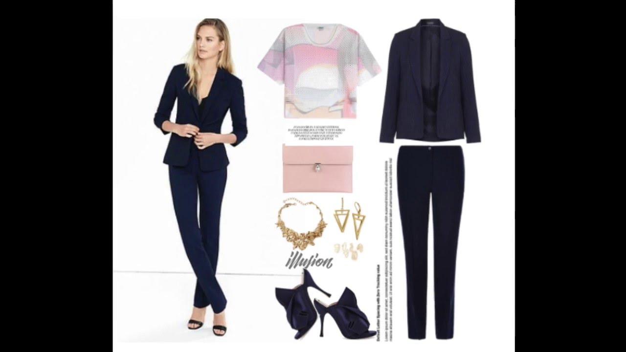 Looks de trabajo y casuales con un traje azul marino x Una Mirada a Tu  Armario ff9a0e49f58b