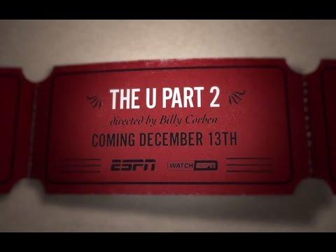 EXTENDED TEASER TRAILER: The U Part 2 premieres at 9 p.m. Dec. 13 on ESPN
