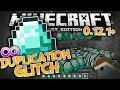 UNLIMITED DIAMONDS!!! - MCPE Universal Duplication Glitch - Minecraft PE (Pocket Edition)
